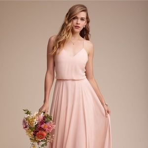 Inesse Dress  - Jenny Yoo BHLDN -BLUSH SIZE 2